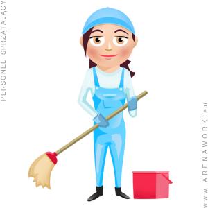 personel sprzątający - praca w Niemczech