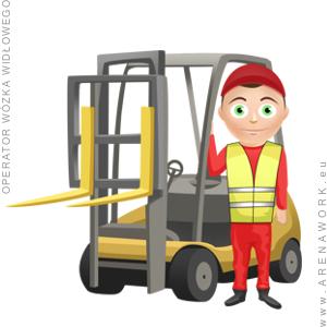 operator wózka widłowego - praca w Niemczech